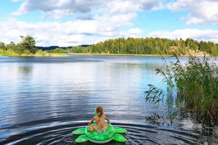 Småland - private cottage by the lake
