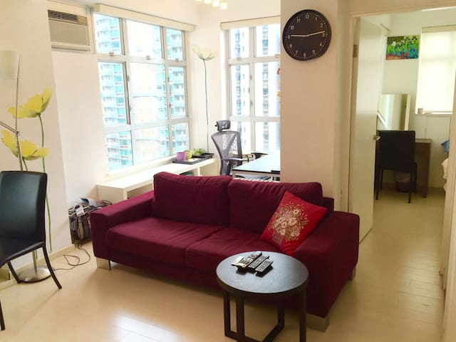 Mid-level 1br/1ba by escalator - Hongkong, Mid-level