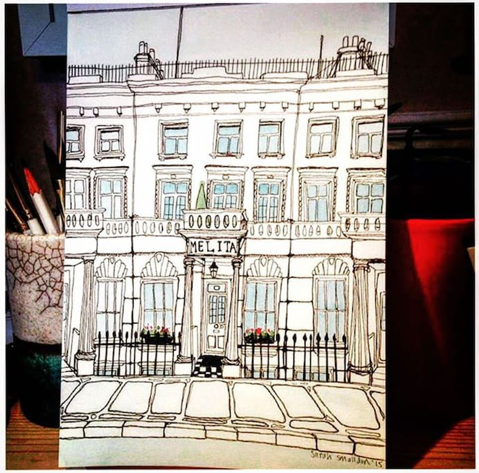 One of 150 original pieces of art displayed across our buildings making each room unique - as part of our #MelitaSupportingTheArts programme - See @themelitalondon on Instagram :)