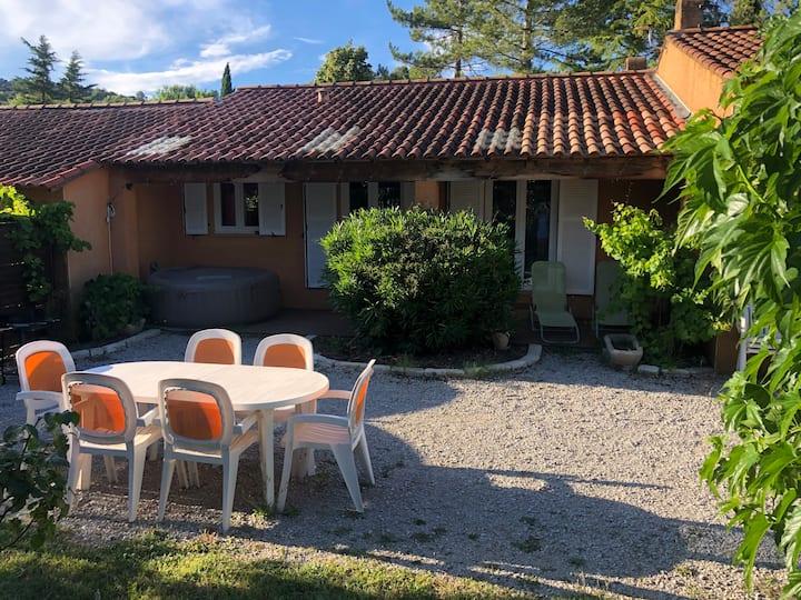 Maison avec clim, spa et Jardin privé Vinon