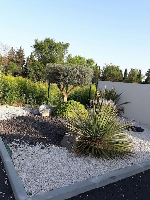 jardin de la Residence