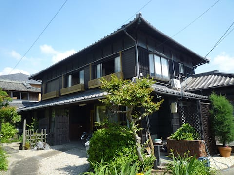 Feel Japan in a 100-year-old house