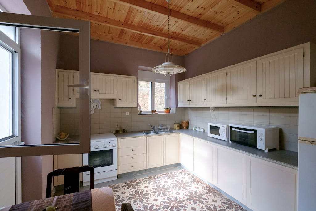 Fully equipped Kitchen. Direct access to the back gardens