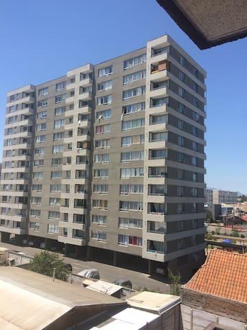 Habitacion en Departamento moderno - La Cisterna - Apartment