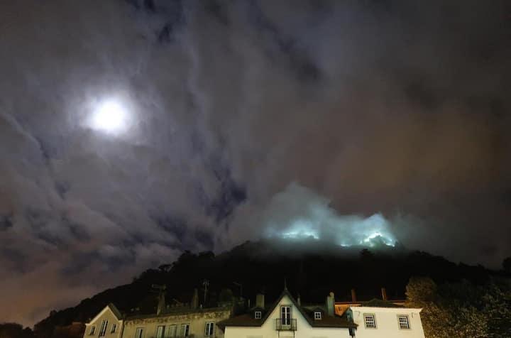 Sintra's Castle  in the fog