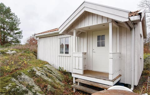 Amazing home in Nordkoster with 1 Bedrooms