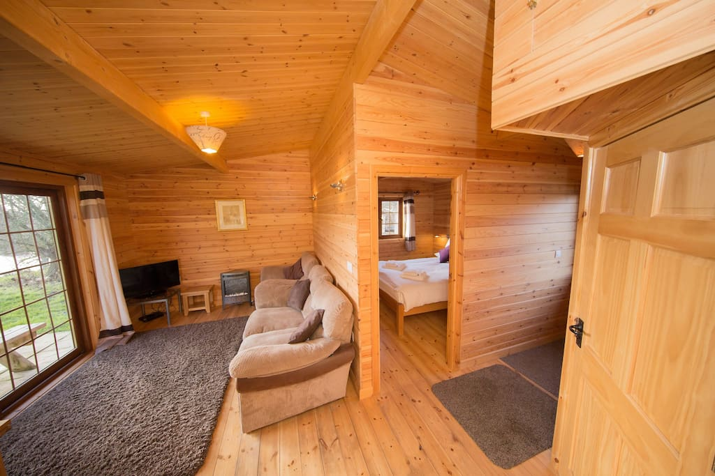 Spacious yet cosy inside!