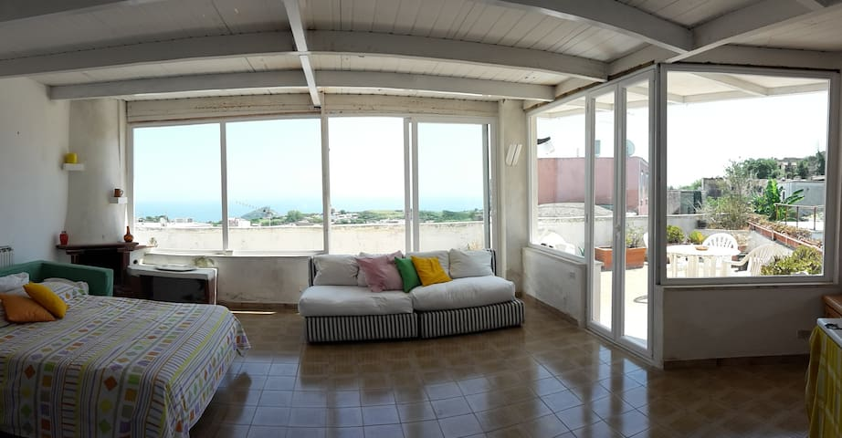 Wonderful house - panoramic view on the sea - Panza