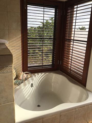 Coconut Palm Villa Poolside Master Soaking Tub