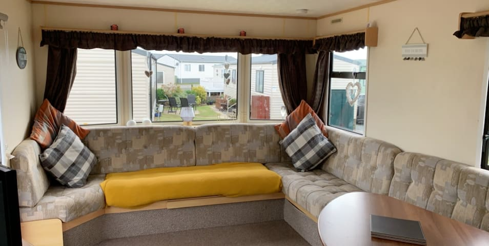 Homely caravans for hire