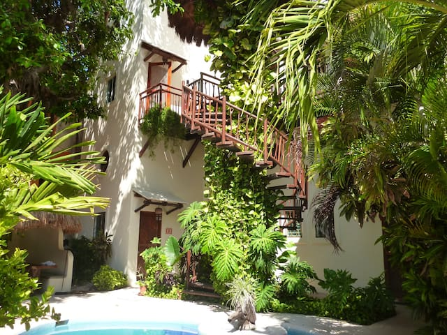 CARIBBEAN  STYLE IN THE HEART OF PLAYA DEL CARMEN