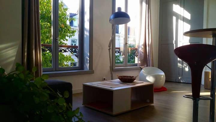 Studio Cosy Au Pied De Lille-République
