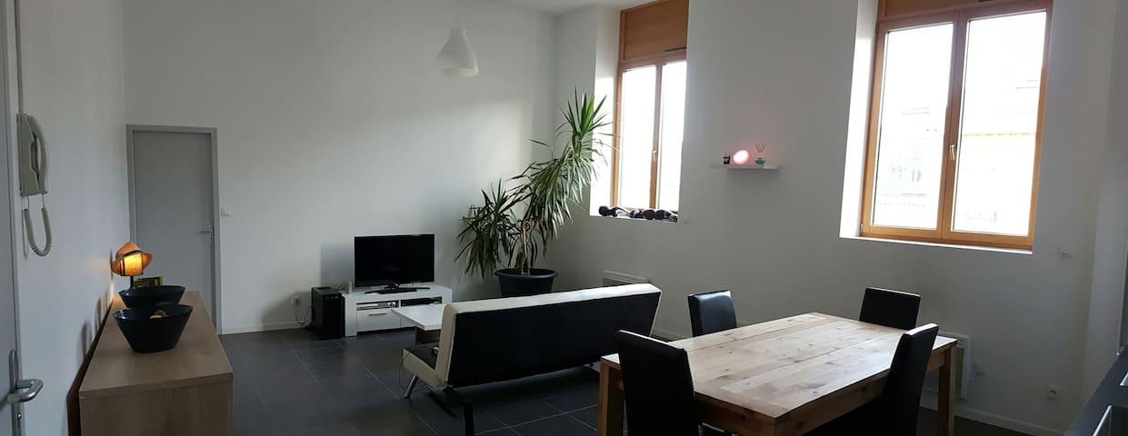 appartement  proximite gare et A47 Saint Etienne - Saint-Chamond - Apartemen