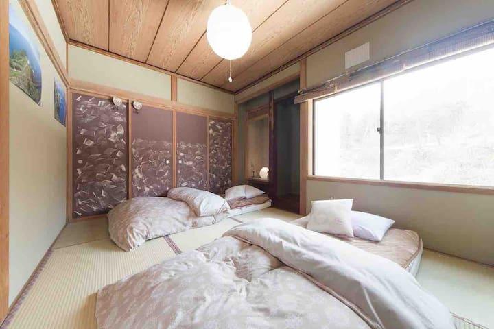 Cabin-in-the-woods style house Noboribetsu