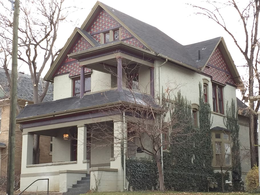 Downtown Mansion With 6 Bedrooms And 5 Baths Houses For Rent In Denver Colorado United States