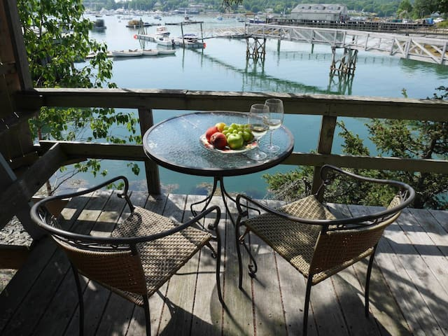 Romantic Waterside Suite | Deck, Kitchen & Views!