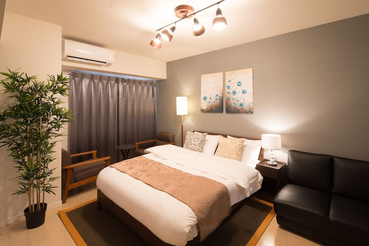 Umeda!★Hotel apartment★Simmons bed!