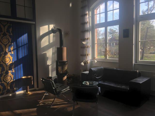 Legende: Fantastisches Loft | Beelitz Heilstätten!