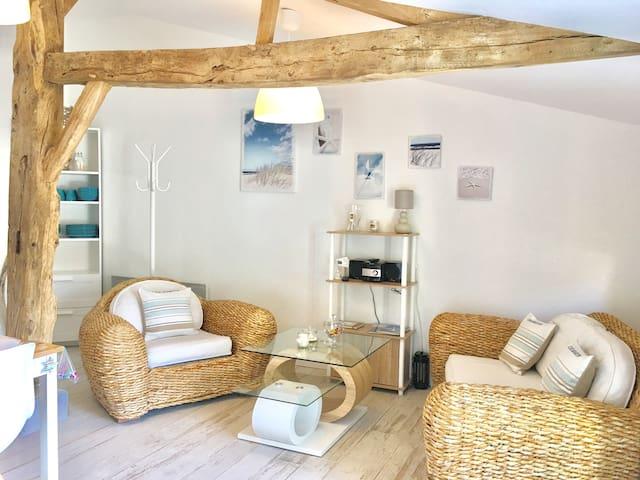 Gîte + sauna pour 4 pers à 10 kms de la mer Vendée