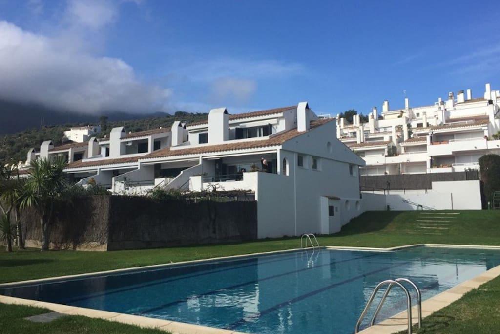 maison 100m plage terrace jardin piscine maisons de