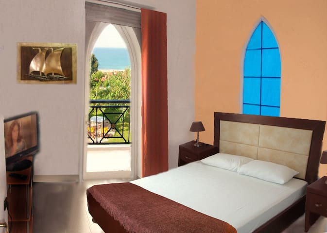 Junior suite for 2 persons with sea view