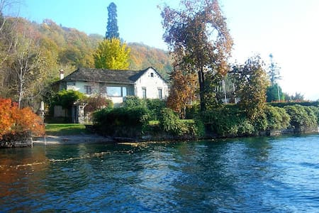 Romantic lakefront villa with pool - Orta San Giulio - Villa