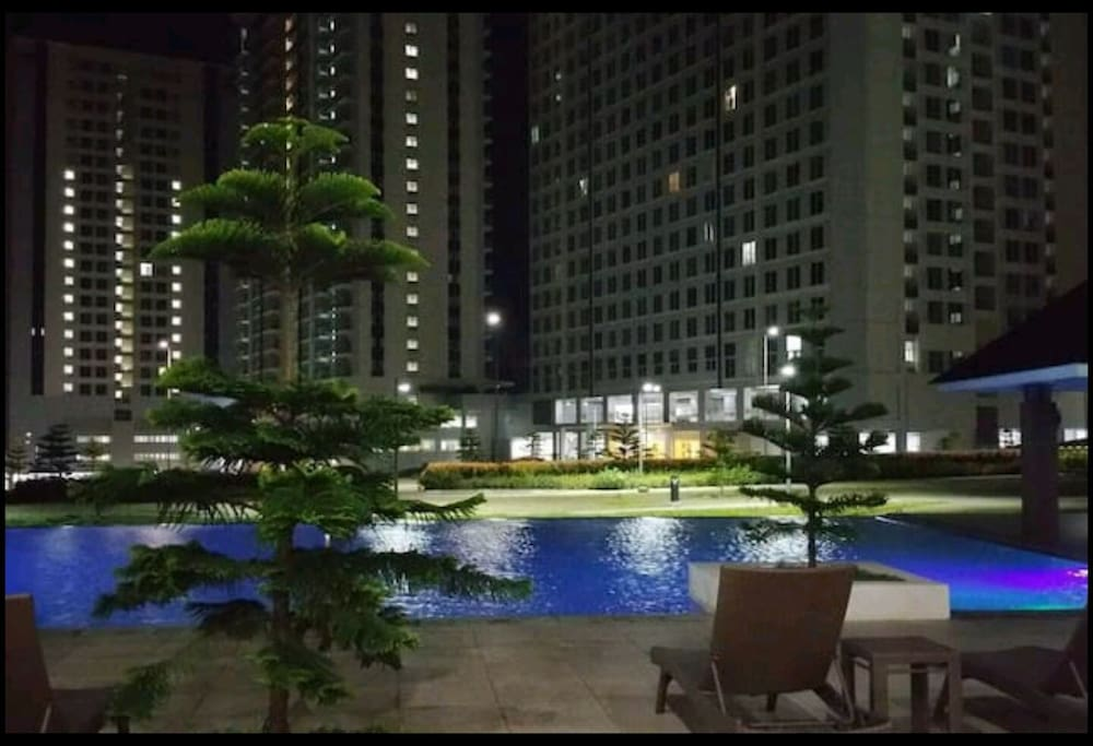 Night view at club house