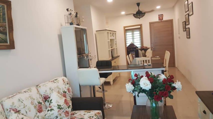 Cozy room at Penang Condo