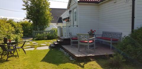 Eget lite koselig hus med hage