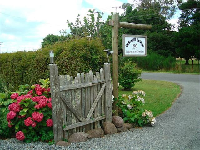 Entrance to Underhill Cottage