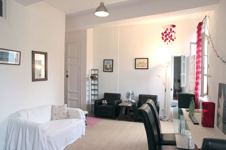 1 Bed Apt & study in historic Perp - Perpignan - Appartement