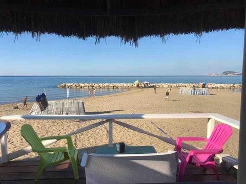 BEACH Air C WiFi 2Bdr 2btr Terrace Pking Panorama