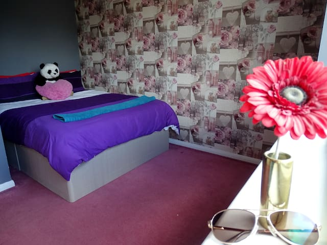 Cosy, colourful double room in Central London