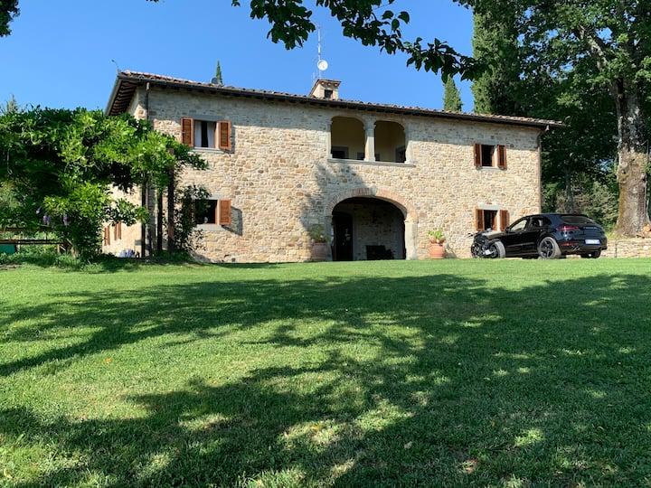 Vacanze da sogno in Toscana presso Casale Chiesina