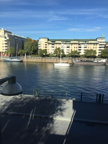 Fantastic waterfront apartment - Stockholm - Apartemen