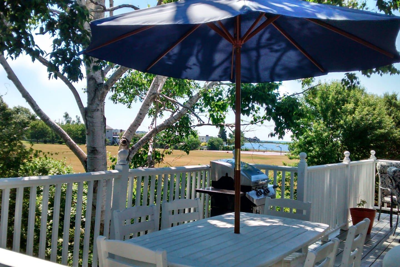 Deck Beach View