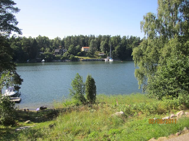 Swedish summerdream on Vätö in Roslagen - Norrtälje N - Cabin