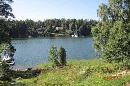 Swedish summerdream on Vätö in Roslagen - Norrtälje N - Mökki