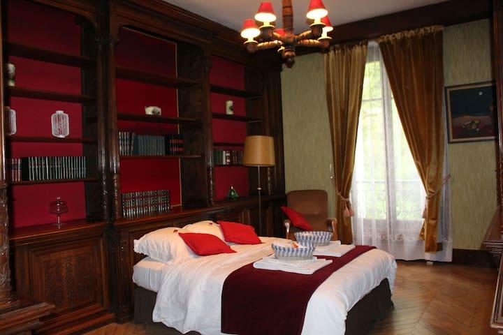 Chambre Le Marquis - Normandie B&B - Hiéville