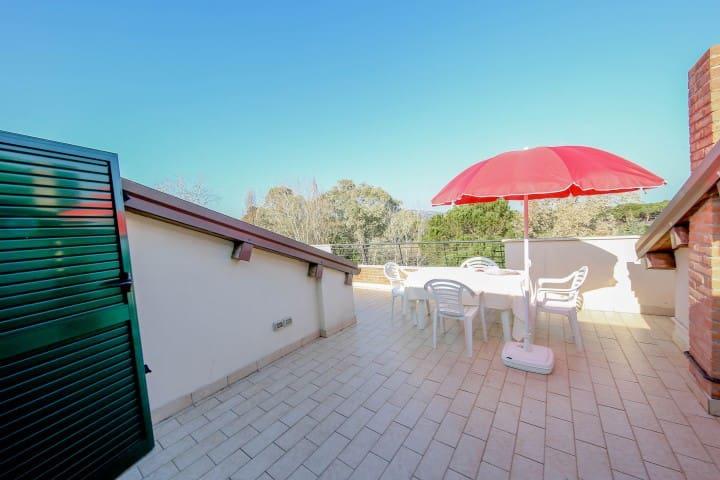 Appartamento immerso nel verde a 40mt dal mare - Giulianova