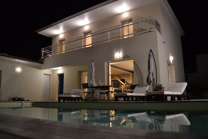 Villa proche plage, piscine, Royan / Vaux-sur-mer
