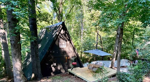 Brown Fox Den- Eco-Friendly Wooded Sanctuary