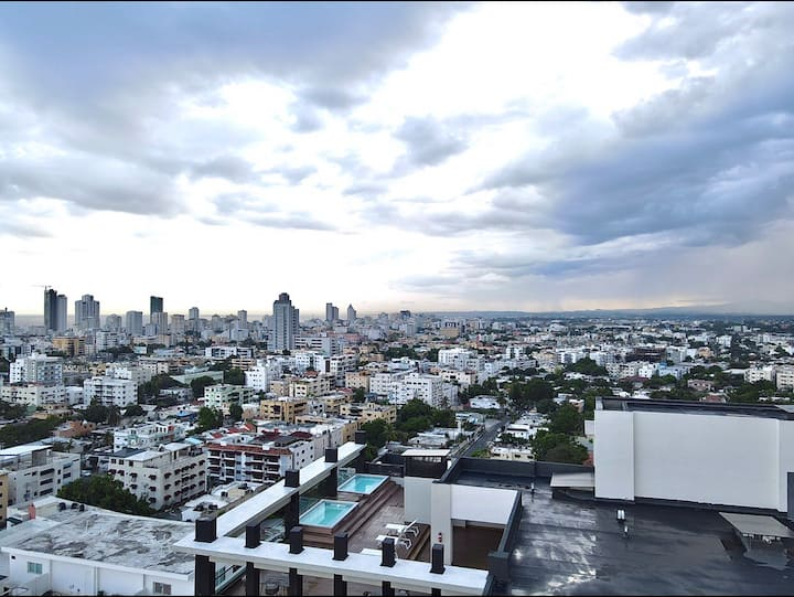 Luxury Santo Domingo Tower Condo