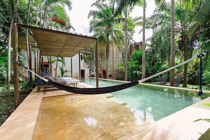 Luxurious and private Hacienda near Mérida