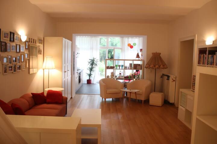 Gemütliche Gartenwohnung im Zentrum - Bonn - Wohnung