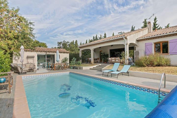 Aesthetic Villa in La Redorte with Private Swimming Pool