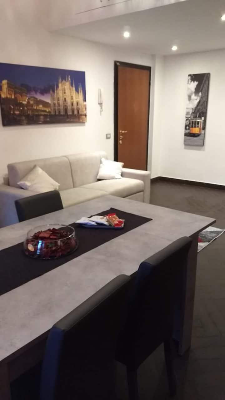 Milano San Siro,appartamento con posto auto