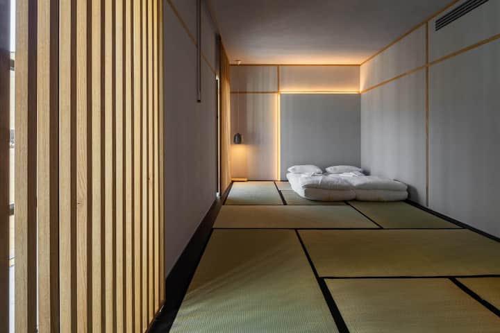 Camera privata con letto tipo tatami