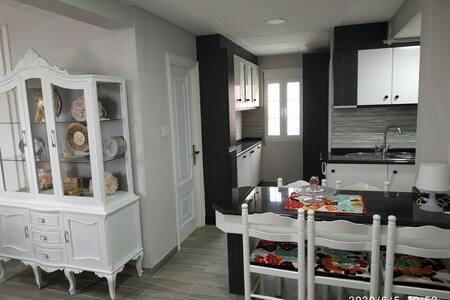 Apartamento con  VISTAS AL MAR Y PLAYA en Laxe