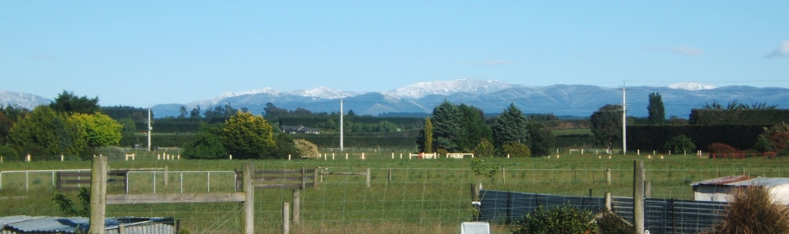 Stay in the country, only minutes from Rangiora